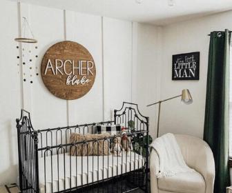 Top 30 Nursery Name Signs Cutesy